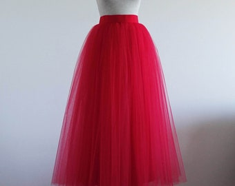 21b3d4d297 Women tulle skirt. Tutu skirt. Adult tutu skirt. Tutu skirt women. Woman  skirt. Red tutu skirt. Woman tutu.
