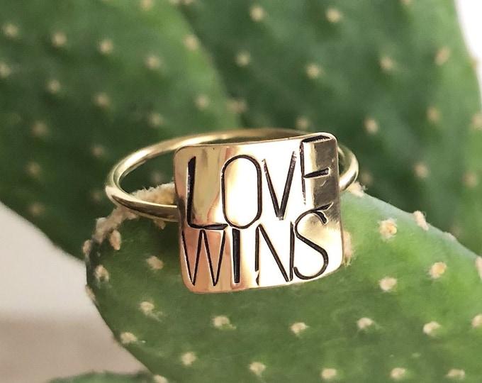 Love Wins Ring