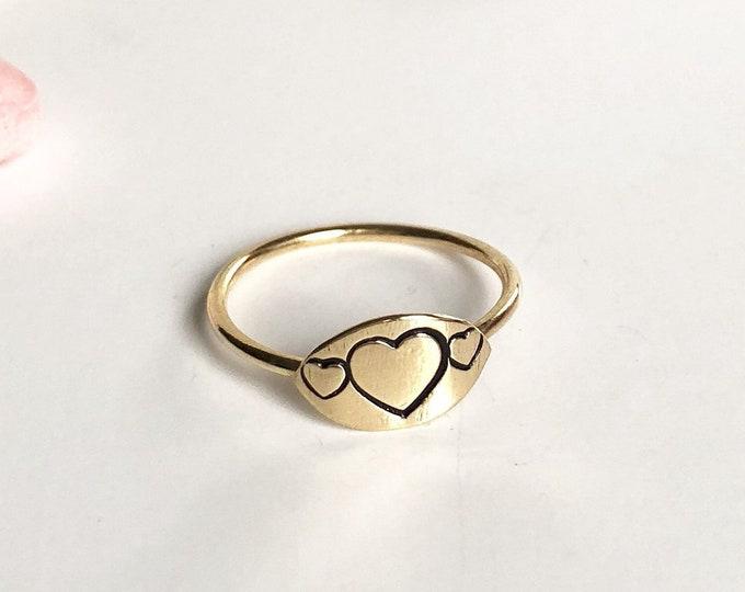 Love Signet Ring