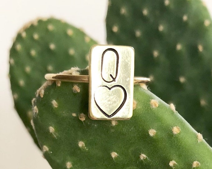 Queen Of Hearts Ring