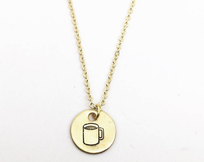 Witty Coffee Necklace