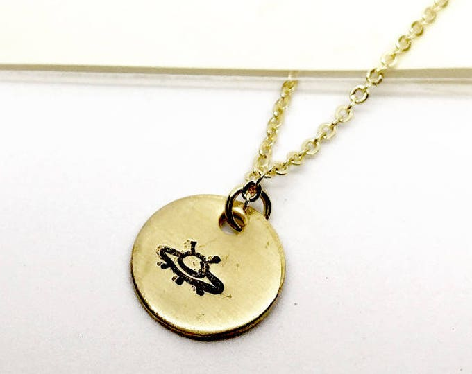 Abduct Me Charm Necklace