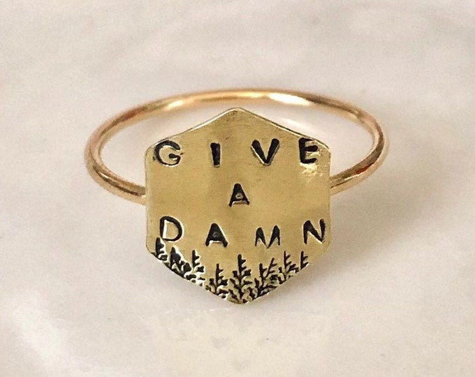 Give A Damn Ring