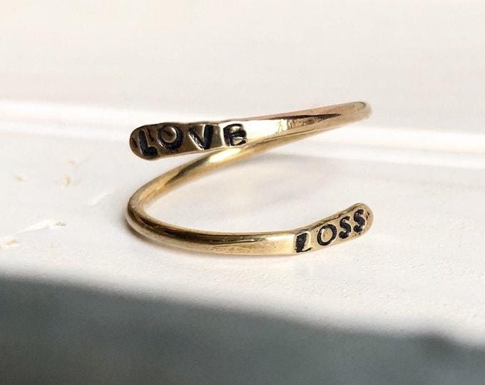 Love + Loss Ring