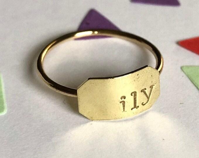 ILY Ring