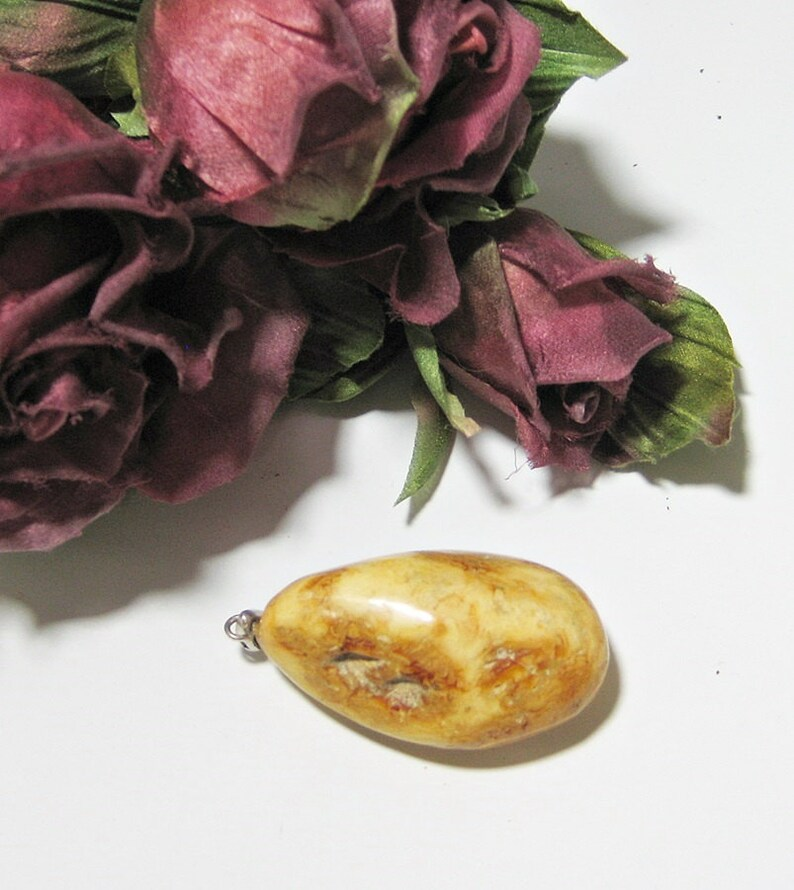 Natural Pendant Amber Jewelry  Raw Amber Pendant Baltic amber pendant.100/% Natural Genuine Baltic AmberBaltic Amber In Handmade