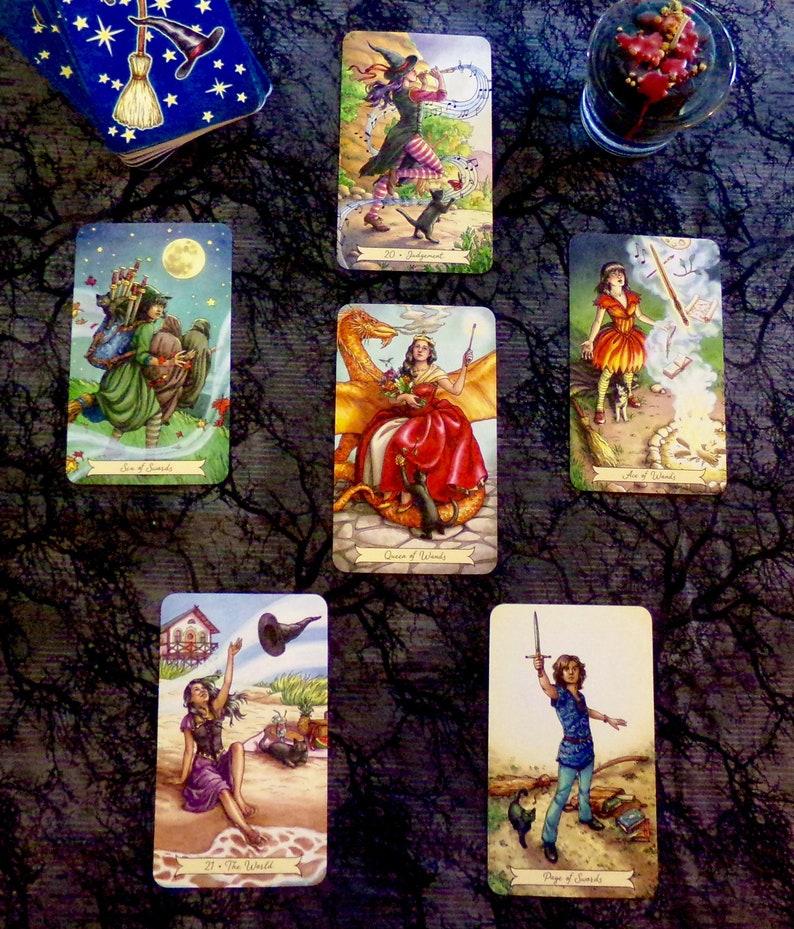 Love Life Reading, Tarot 7-Card Reading, Love Tarot Card Reading, Romance