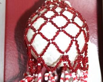 Unique Beaded Ornament