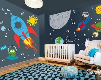 3 X Autocollants Oiseaux et Papillon Chambre à coucher Decor Kids Wall Stickers