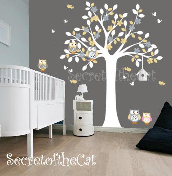 Kinderzimmer Wand Aufkleber Aufkleber Kinderzimmer Baum Mit Etsy