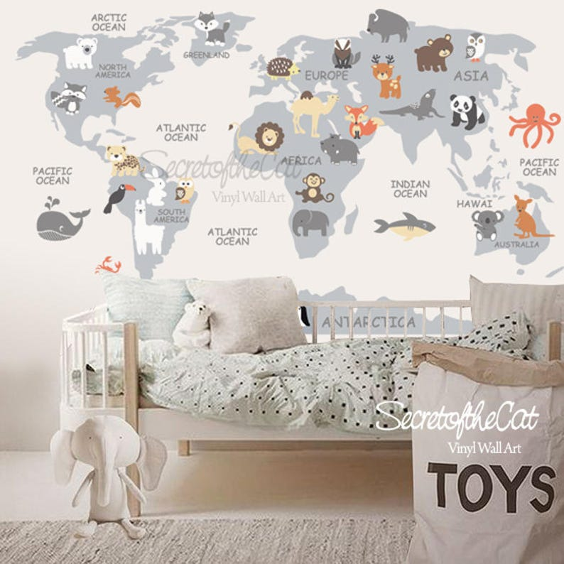 World Map decal - Map decal - World Map- Children Wall decal - Map on world map tree decal, world wall sticker, world map baby nursery, large world map decal, world map box, world map pottery barn decal, world country decals, world map mobile, awesome truck stickers decal, world map bedroom decor, world map engraving, world map skin, world map stencil, giant world map decal, world map family, world map bowl, world map macbook decal, world vinyl paper, world map wallpaper, world map magnet,