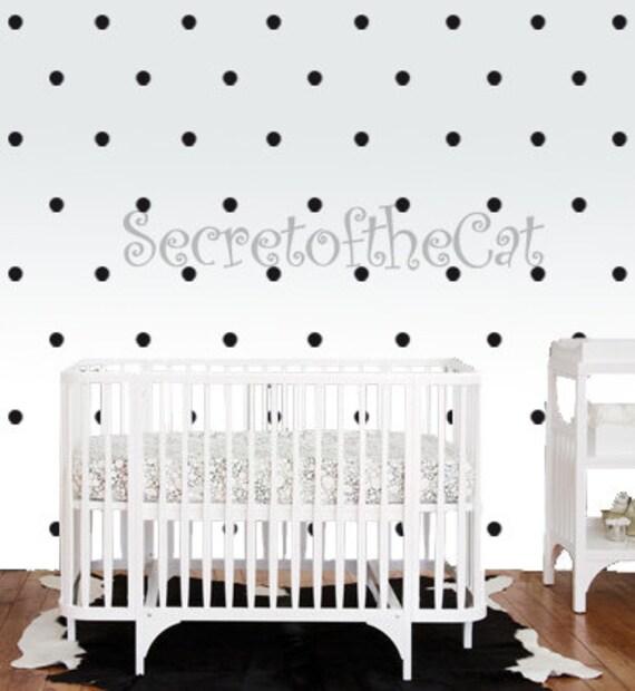 konfetti punkte baumschule wall decal punkte setzen decals etsy. Black Bedroom Furniture Sets. Home Design Ideas