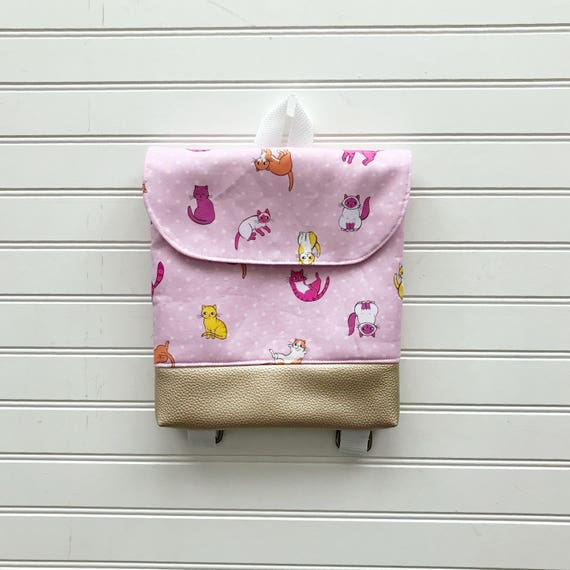 a25b50b7ff Caturday Tiny Pack Small Backpack Toddler Backpack Tiny