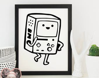 Adventure Time Bmo - SVG CUT FILE