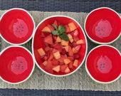 Watermelon Bowls Serving Set