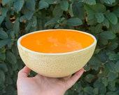 Extra large Cantaloupe Bowl