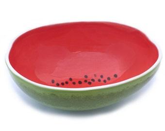 Large Watermelon Serving Bowl