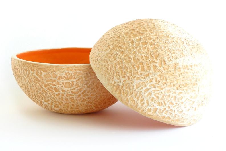 Cantaloupe bowl image 0