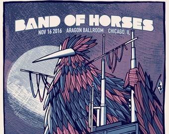 Band of Horses Chicago 11/16/16