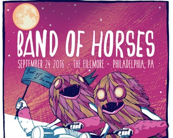 Band of Horses Philly- 8/24/16