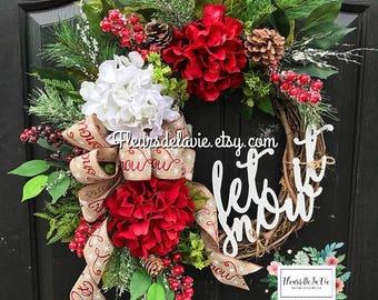 Gentil Christmas Wreath, Christmas Wreath Front Door, Wreaths For Door, Christmas  Door Wreath, Holiday Wreaths, Seasonal Wreaths