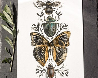 Insect collage 2