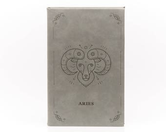 Aries / Leather Journal
