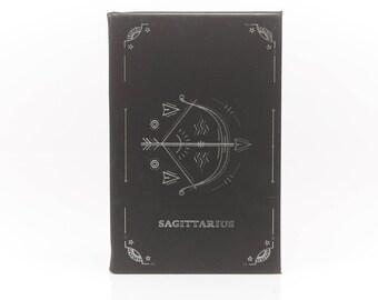 Sagittarius / Leather Journal