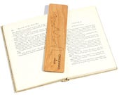 Your City Skyline / Custom Wood Bookmark