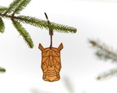 Rhino / Wood Ornament