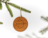 Sagitarrius / Wood Ornament