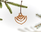 Latte Art / Wood Ornament