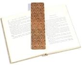 Floral / Wood Bookmark