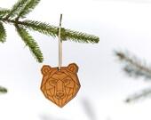 Bear / Wood Ornament