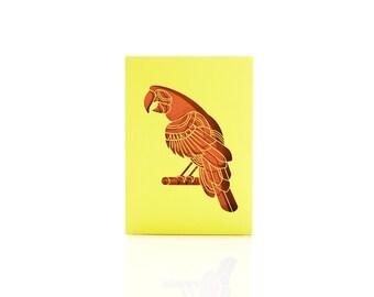 Parrot // Laser Cut Card