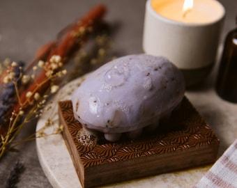 Wood Soap Dish / Brazilian Walnut