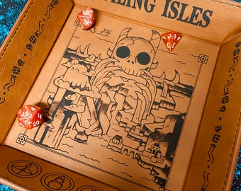 Owl House Boiling Isles Engraved Dice Tray