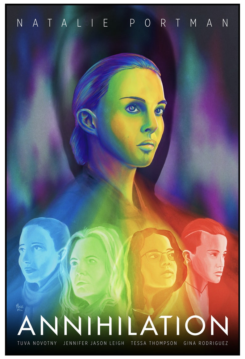 Annihilation Illustrated Movie Poster image 0
