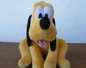 Pluto Stuffed Plush Animal Grad  Night /'84 Walt Disney Productions 11