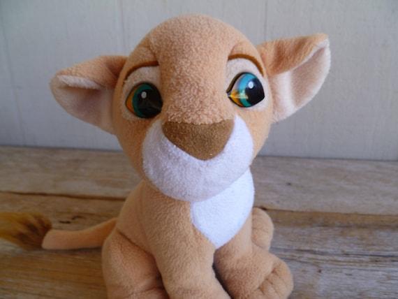 Lion King Baby Nala Plush Lion Disney 1993 Mattel Etsy