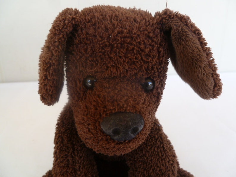 711fe10a8e68 Mary Meyer Plush Brown Puppy Dog | Etsy