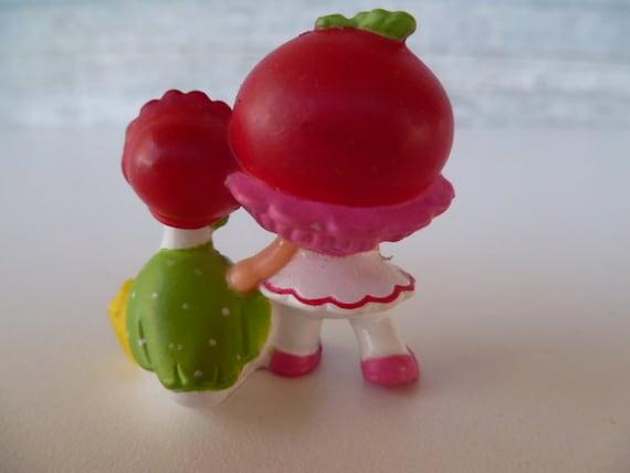 Strawberry Shortcake Cuddler cerise avec groseille PVC Miniature 1982