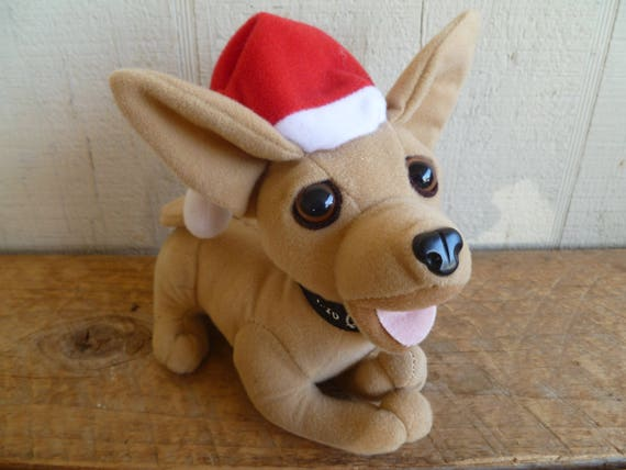 taco bell chihuahua name taco bell chihuahua advertising christmas santa hat 8917