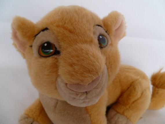 Disney Lion King Baby Nala Plush Lion Etsy