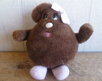 Vintage Nestle Lil Bits Plush Toy  1984