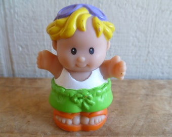 Vintage Fisher Price Little People Blond Hair 1998