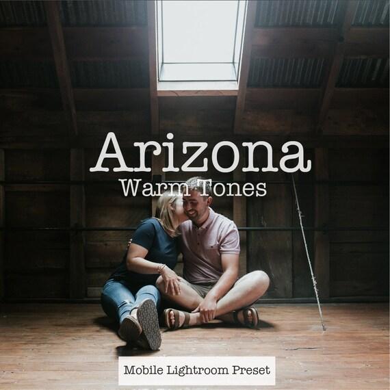 Mobile Lightroom Preset Arizona Warm Tones Everyday Mobile Etsy