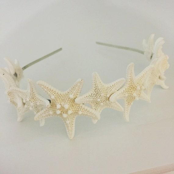 Sirène bandeau serre-tête étoile de mer parure de tête   Etsy 81c363b6731