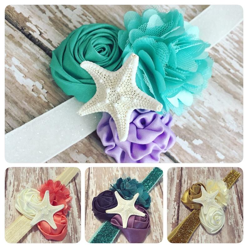 Princess Headband  The Little Mermaid  Ariel Headband  Cake image 0