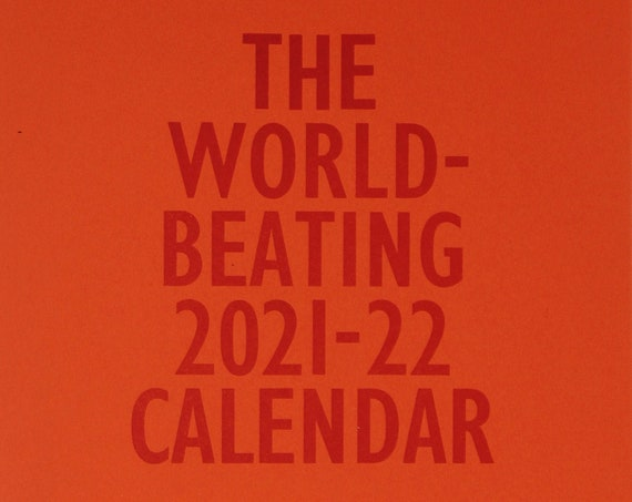 The World-Beating 2021-22 Calendar